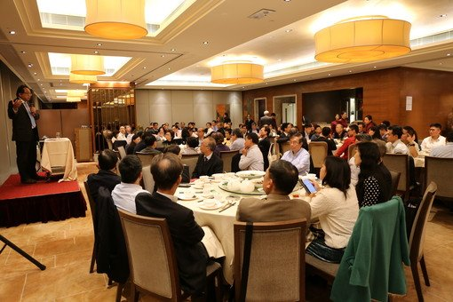 Participants listened attentively to Prof. Tsui's speech