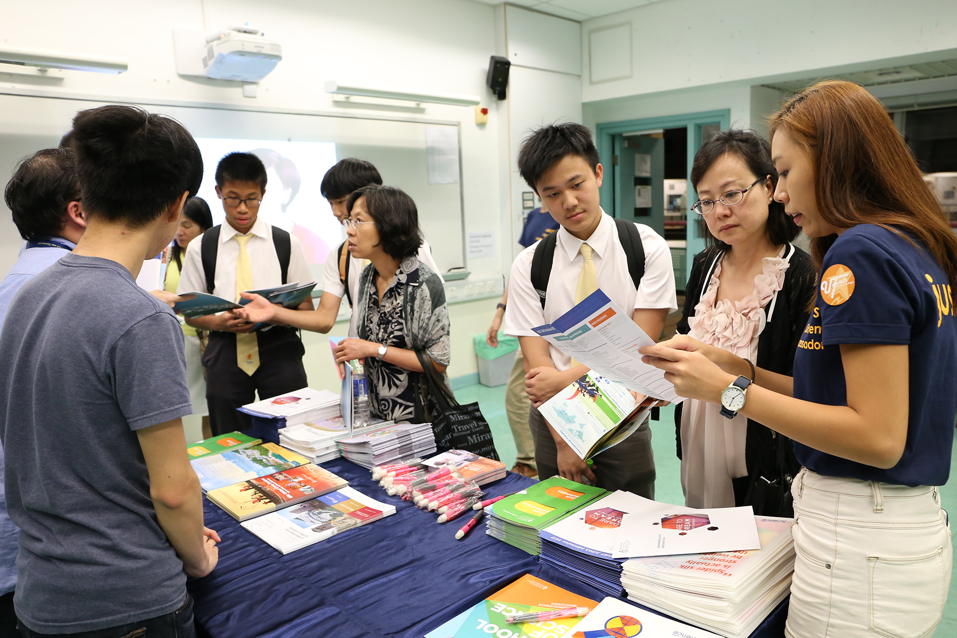 Delegates provided the most updated information to our students and parents