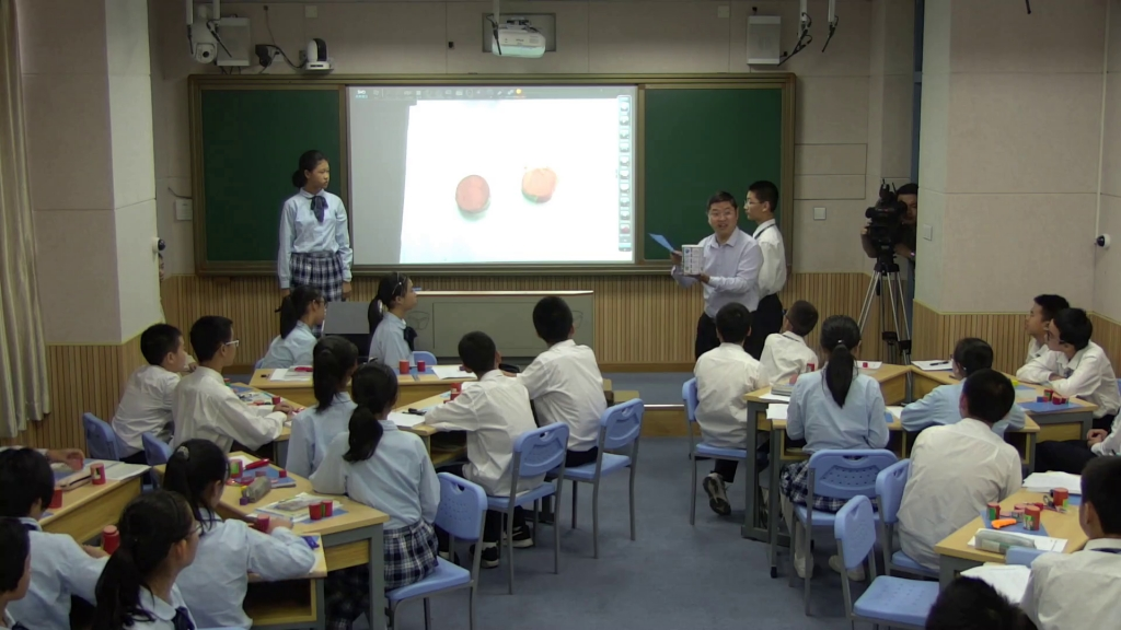 Lesson in the Shenzhen Foreign Languages School